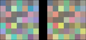 Illustration of Colour and Brightness Constancies
