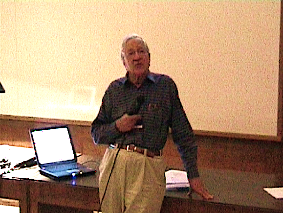 Horace Barlow at ECVP 2003 in Paris