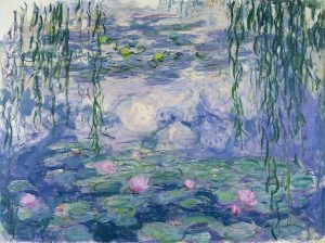 Claude Monet, 1916-19. Water-Lilies [Oil On Canvas] at Musee Marmottan Monet